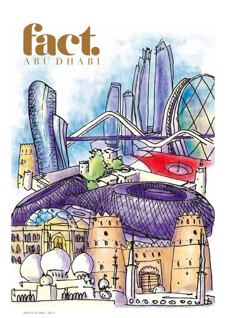 Fact abu dhabi june 2014 magazine cover abu dhabi uae