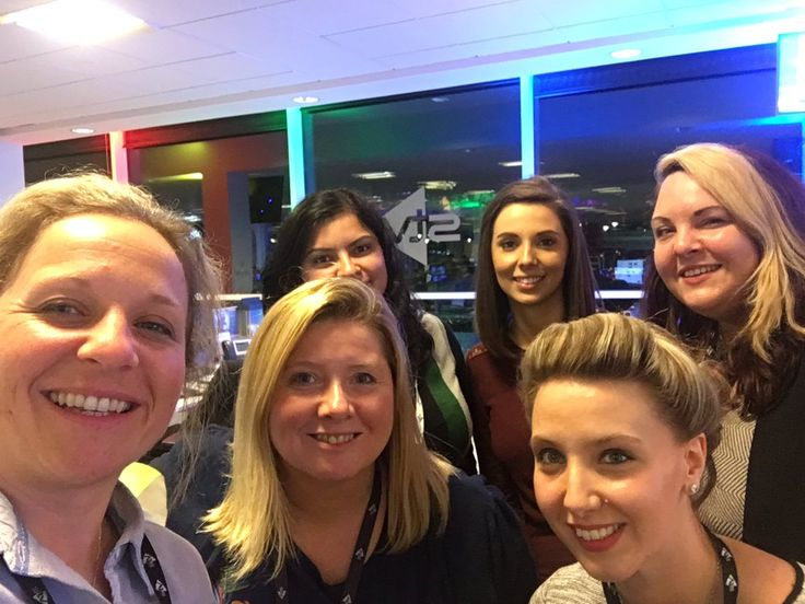 STV News is a Scottish news channel covering central and north Scotland. Ahead of the 2017 General Election in the UK, assistant producer, Catriona MacPhee posted this office selfie of the team, getting into the campaign spirit.
