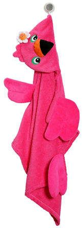 Zoocchini Franny The Flamingo Toddler Towel
