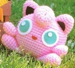 Amigurumi Nintendo TV game Jigglypuff Pokemon Doll Crochet PATTERN PLUS FREE Hello kitty pattern