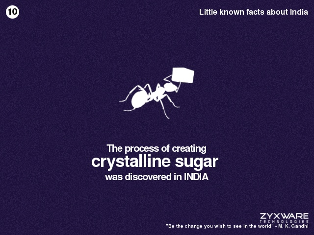 Little known facts about India #10