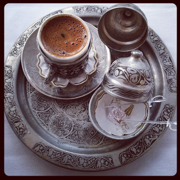 Turkish Coffee and Turkish Delight☪TÜRK KAHVESİ
