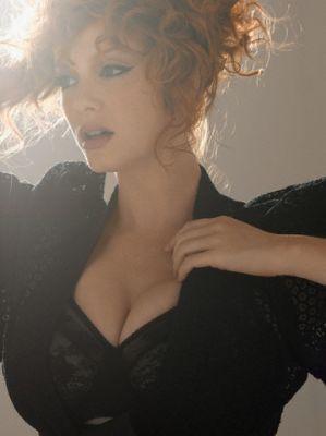 The beautiful Christina Hendricks