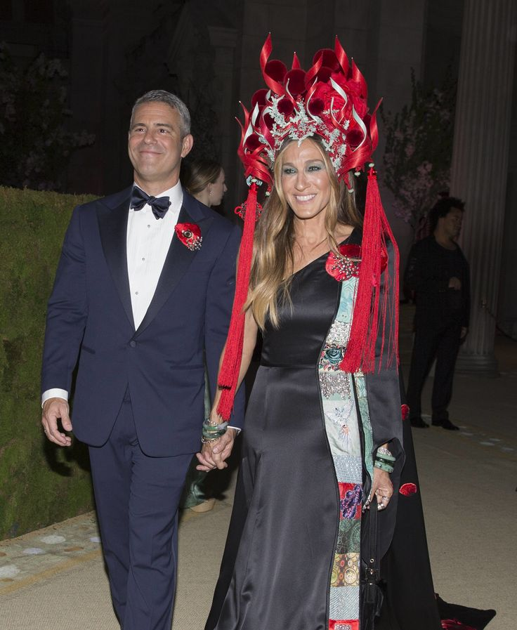 Sarah Jessica Parker in H&M at the Met Gala 2015