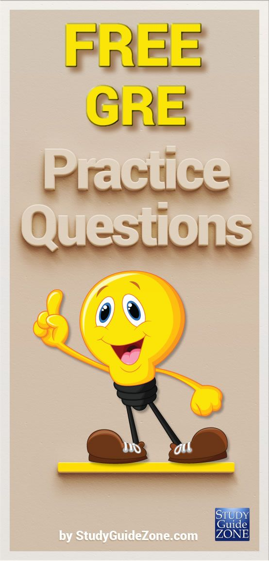 Get free GRE practice questions and study tips to help you prep for the GRE test. #gretest #greprep