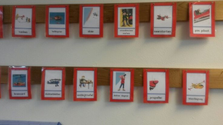 Woordkaarten bij het boek Pim Piloot