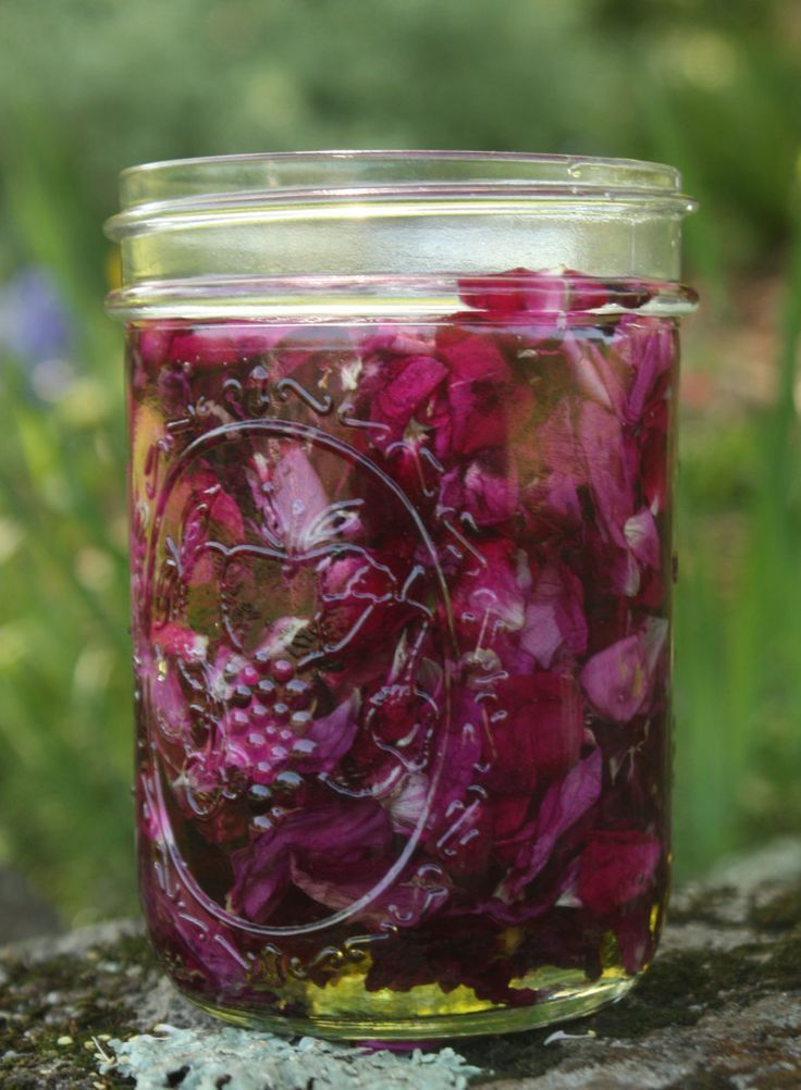 Rose Infused Oil:  My Roses are blooming.  Time to make some of this lovely sensual oil.