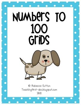 I created these grids for my students to practice their numbers to 100. I hope you enjoy!Thank you for visiting!Rebecca...