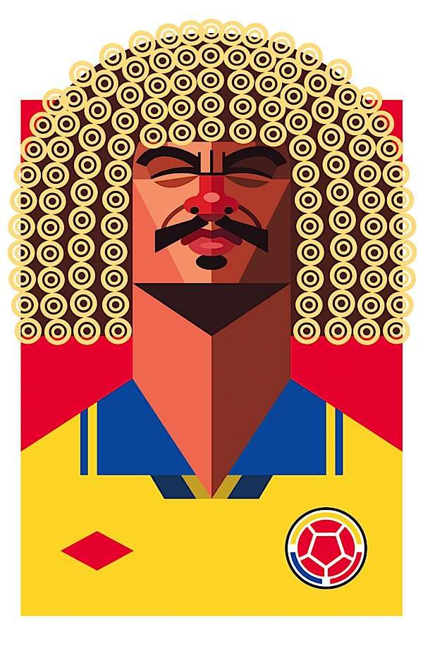 """El """"pibe"""" Valderrama ✨✨ #crazyColombia.com by @TheCrazyCities.com #TheCrazyCities we #pin about #travel #Culture#art #Festivals and more..."""