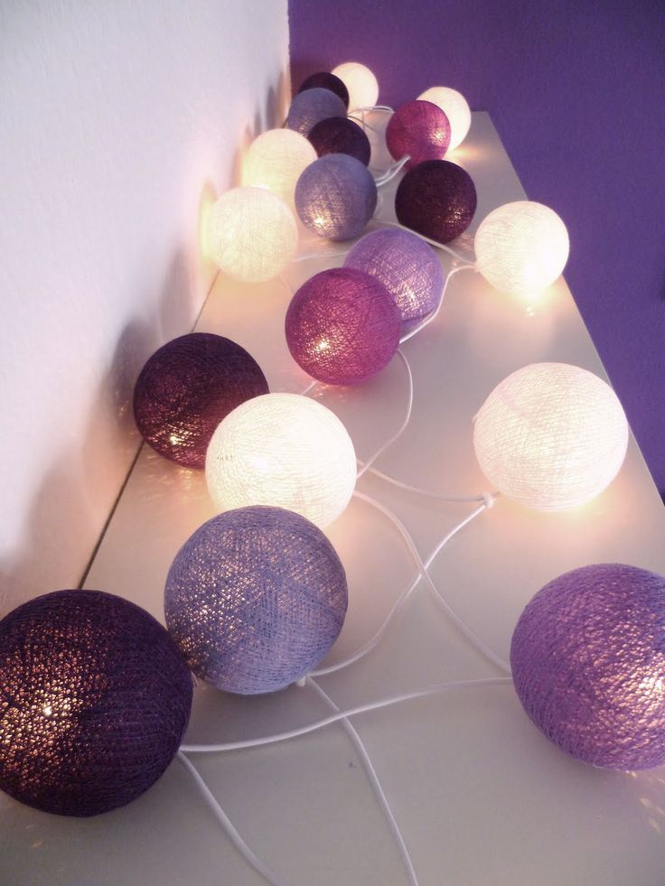 Do It Yourself: Lichterkette | * Nicest Things - Food, Interior, DIY: Do It Yourself: Lichterkette