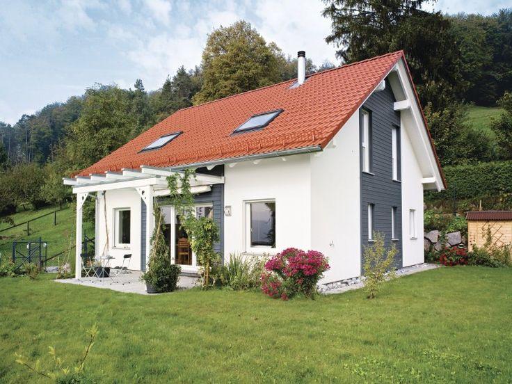 13 besten ausbauhaus bilder auf pinterest satteldach for Architektur einfamilienhaus satteldach