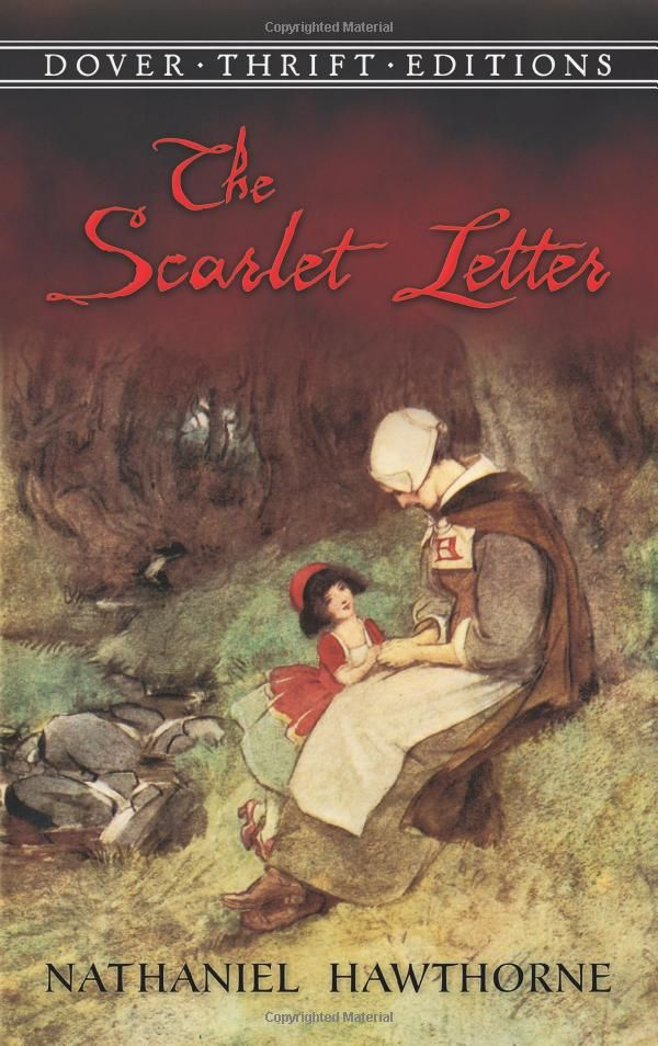The Scarlet Letter (Dover Thrift Editions): Nathaniel Hawthorne ...