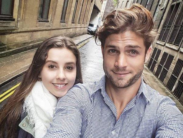 Derraman miel Horacio Pancheri y Paulina Goto