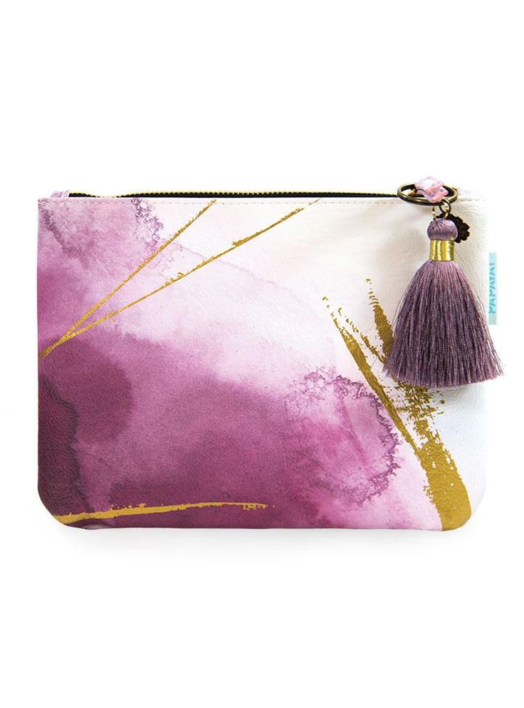 Beautiful Pocket Clutch! From a day at the office to a night on the town, our stylish new pocket clutch is ready to carry what you need. These beauties come with a coordinating tassel and a luxurious gold metallic lining. #clutch #pocketclutch #eveningclutch #clutchbag #papayaclutch #juneberry #juneberryliving #eveningbag