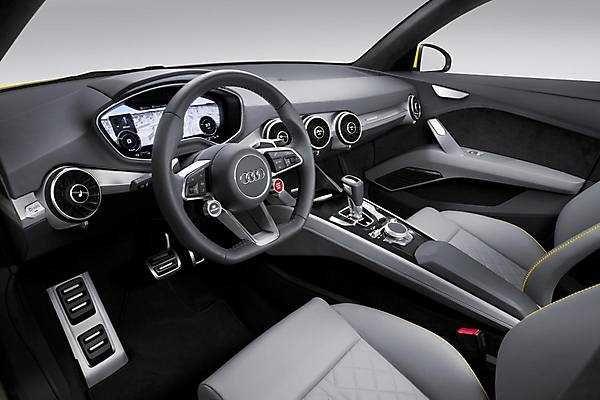 2018-2019 Audi TT Offroad Concept