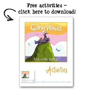 """Free downloadable """"Going Places"""" Activities Guide - Inspire creativity & engineering in your school!  GOING PLACES by Peter & Paul Reynolds"""