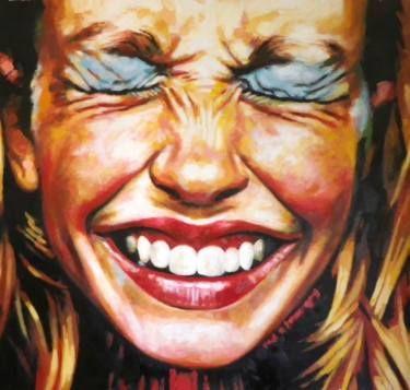 Saatchi Art Artist Thomas Saliot; Painting, U201cClose Up Laugh Make Upu201d # Amazing Ideas