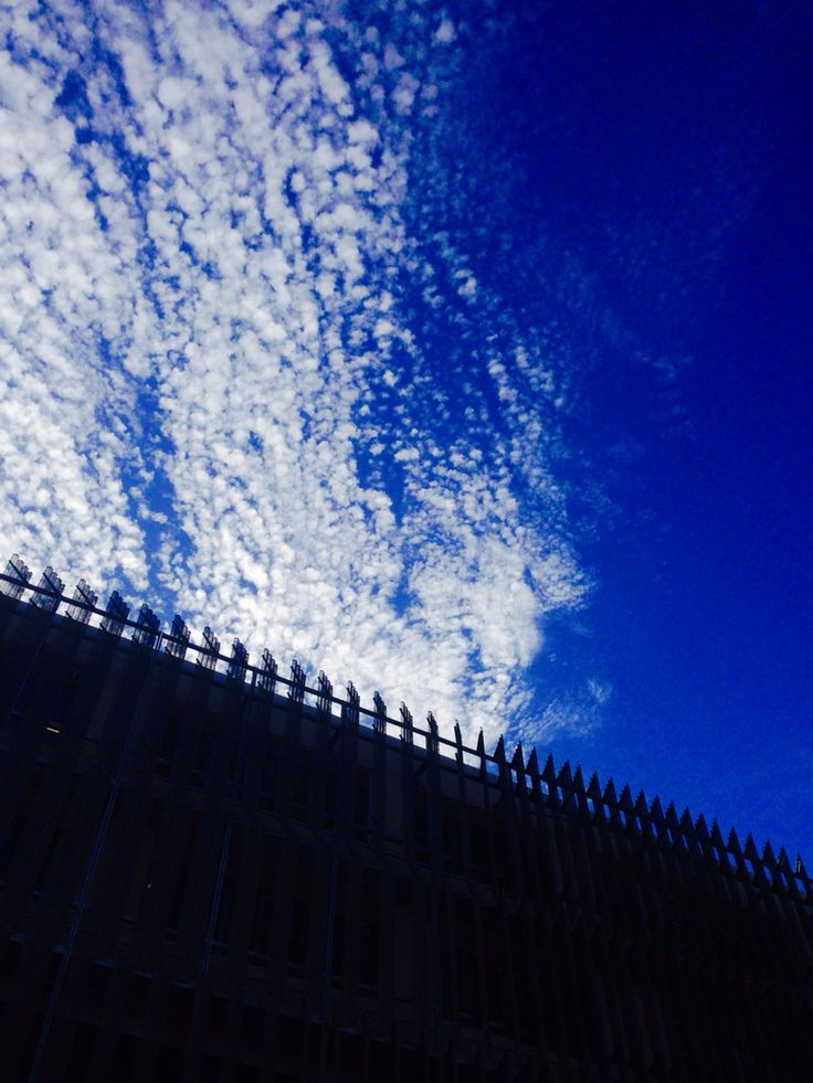 #2 -I noticed these unique cloud formations and used the new School of Design building at Melbourne Uni as a silhouette to highlight the sky.