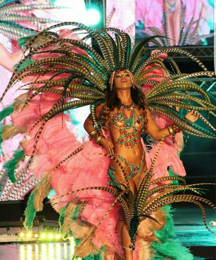 Talented Trinidad and tobago carnival theme