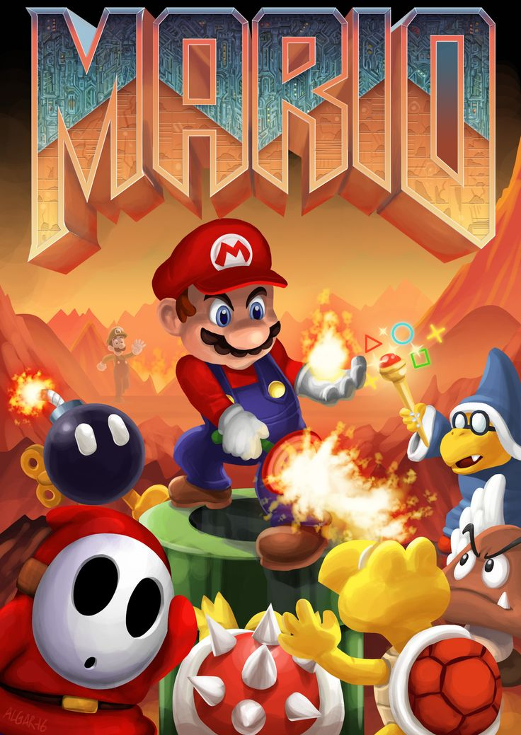 Mario Moonlighting: Doom, Jim Algar