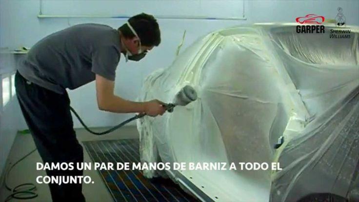 Como cambiar de color un coche clásico: FIAT COUPE 2 Blanco Perlado