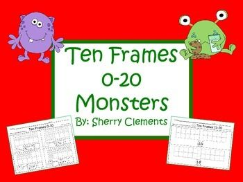 1000+ images about Ten Frame on Pinterest | Ten frame activities ...