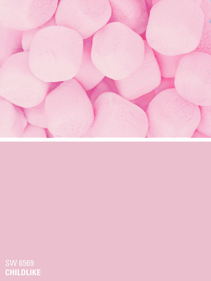 Sherwin-Williams pink paint color – Childlike (SW 6569)