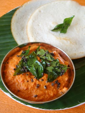 Tomato Nuvvula Pachadi ~ Tomato Sesame Chutney - Indian Food Recipes   Andhra Recipes   Indian Dishes Recipes   Sailu's Kitchen