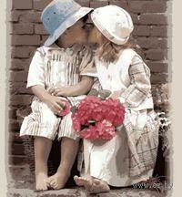 Картина по номерам `Первая любовь` (500x650 мм; арт. MMC002)