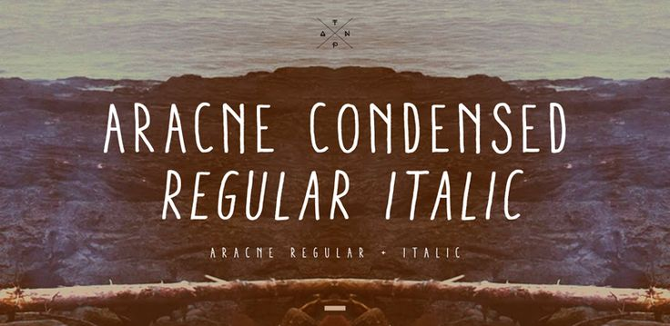 Fonts - Aracne Condensed by Antipixel - HypeForType Font Shop