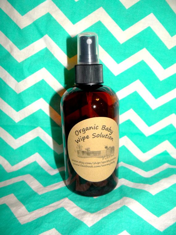 Maybe I can figure out how to make this on my own?? 8oz Organic baby wipes solution spray for cloth by SquishyWorm, $6.00