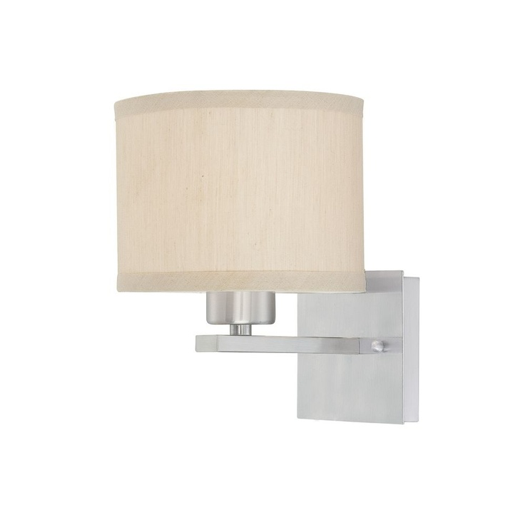 Dolan Designs Sconce with Beige Fabric Shade 2946-09 $65