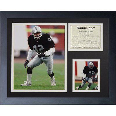 Legends Never Die Ronnie Lott Framed Memorabilia