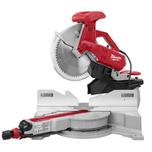 "Milwaukee 6955-20, 12"" Dual-Bevel Sliding Compound Miter Saw http://cf-t.com/product/milwaukee-6955-20-12inch-dual-bevel-sliding-compound-miter-saw/"