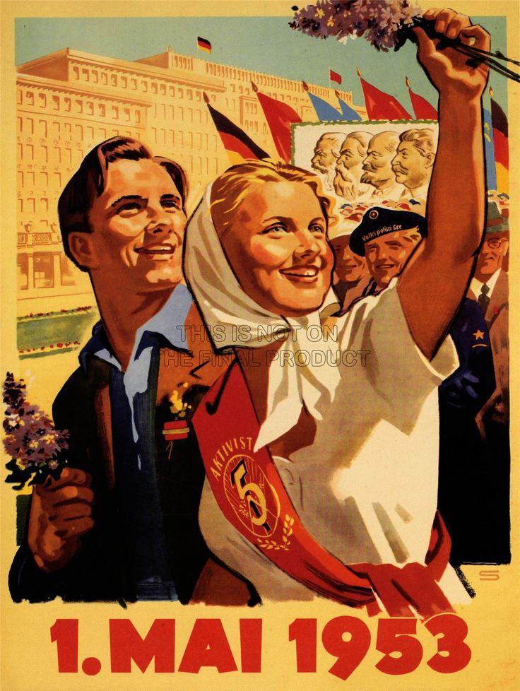 La propagande politique soviétique Marx Engels, Lénine Staline Poster Print bb6891b in Art, Posters, Contemporary (1980-Now) | eBay