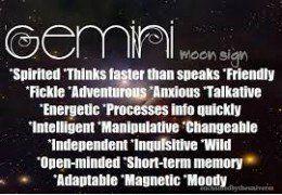 Gemini Characteristics Related Keywords & Suggestions - Gemini ...