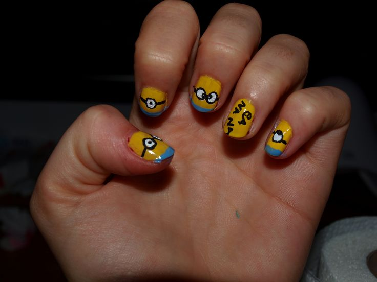 #despicableme nail art