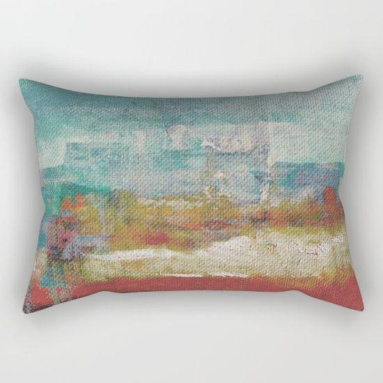 Lake Nyos Rectangular Pillow