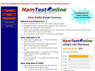 New Amatuer Radio Site added at Ham Test Online - https://www.hamradiostop.com/listings/ham-test-online/