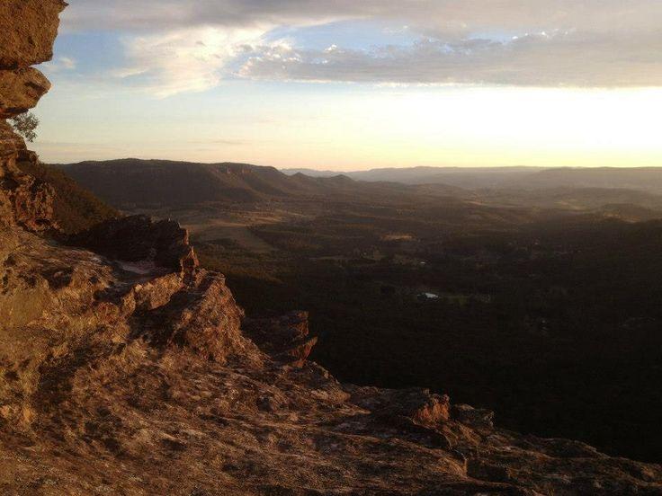 Sun going down - Blue Mountains NSW