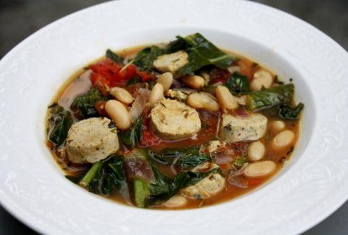 Vegan Tuscan White Bean Stew: Blancos Stew, Luxhippie, Vegan Recipes, Soup Kind, Vegan Toscano, Favorite Recipes, Vegan Tuscan, White Bean Soup