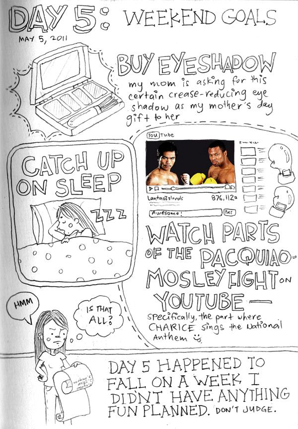 I forgot to draw Manny Pacquiao so I used an actual picture instead.