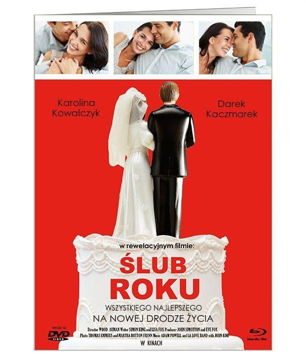 Ślubno-filmowa kartka okolicznościowa