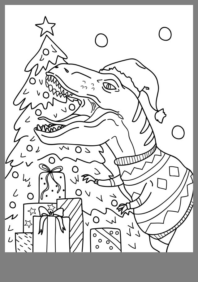 Pin By Sarah Lindgren On Joulu Printable Christmas Coloring Pages Christmas Coloring Printables Christmas Tree Coloring Page