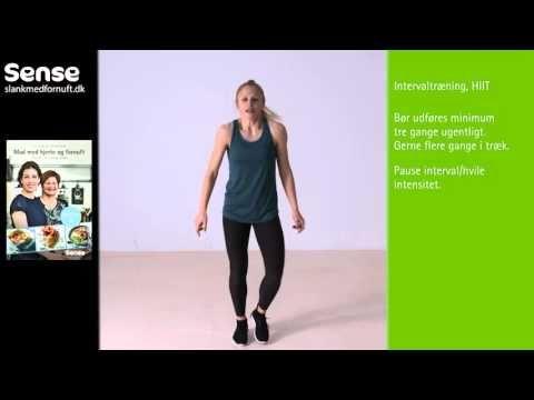 Sense-træning 4 - HIIT - YouTube