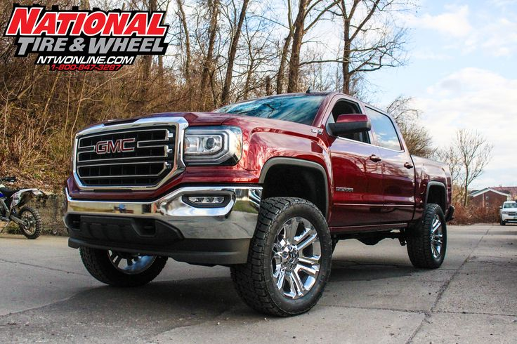 NTW Install: This 2017 GMC Sierra 1500 received a 4.5in Zone Off-Road Products suspension system, and a set of 35X12.50R22 Nitto Terra Grappler G2 tires.