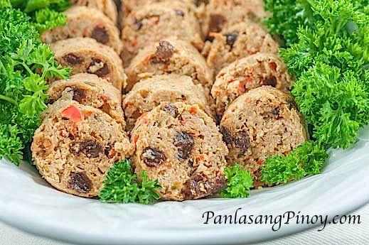 Chicken Embutido Recipe - Panlasang Pinoy