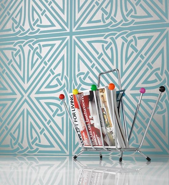 Barbara Hulanicki of Biba fame - Wallpaper designs for Graham & Brown