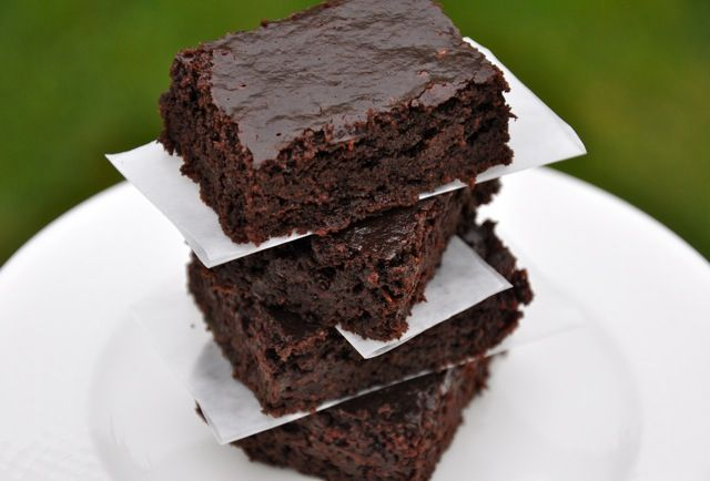 Real Healthy Zucchini Brownies