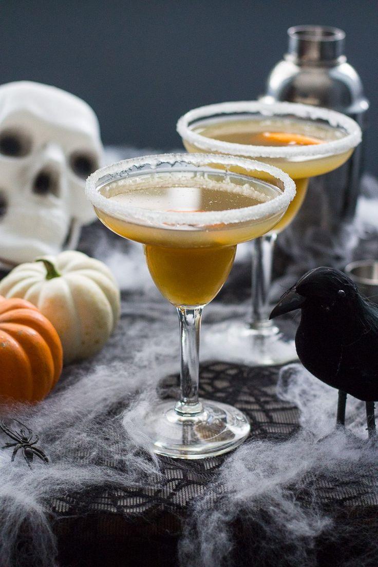 Pumpkin Chai and Liquorice Martinis   Spiced black tea, orange juice and liquorice syrup.
